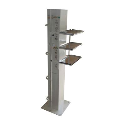 Полка для инфузоматов для вертикального блока, нержавеющая сталь